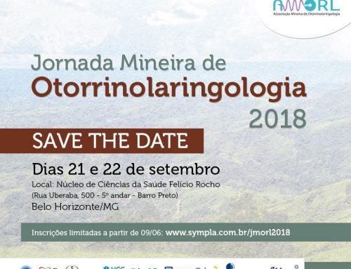 Jornada Mineira de Otorrinolaringologia 2018